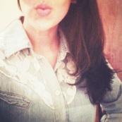 Beijo cor de rosa!