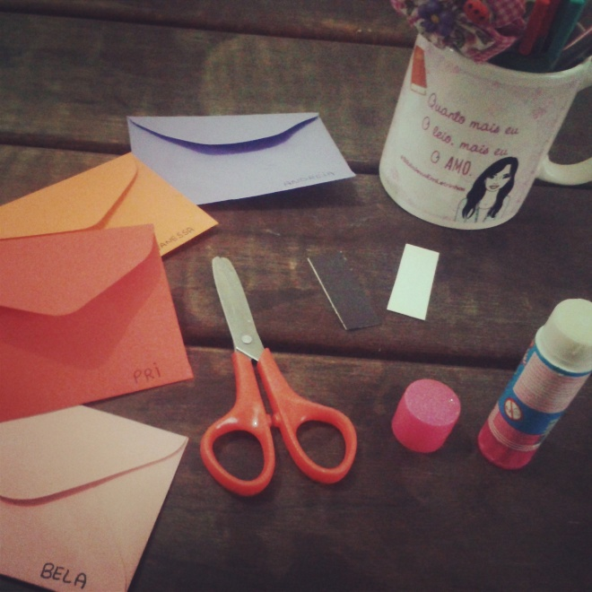 Envelopes para trocar carinho, encorajamento e  cultivar a comunhão.